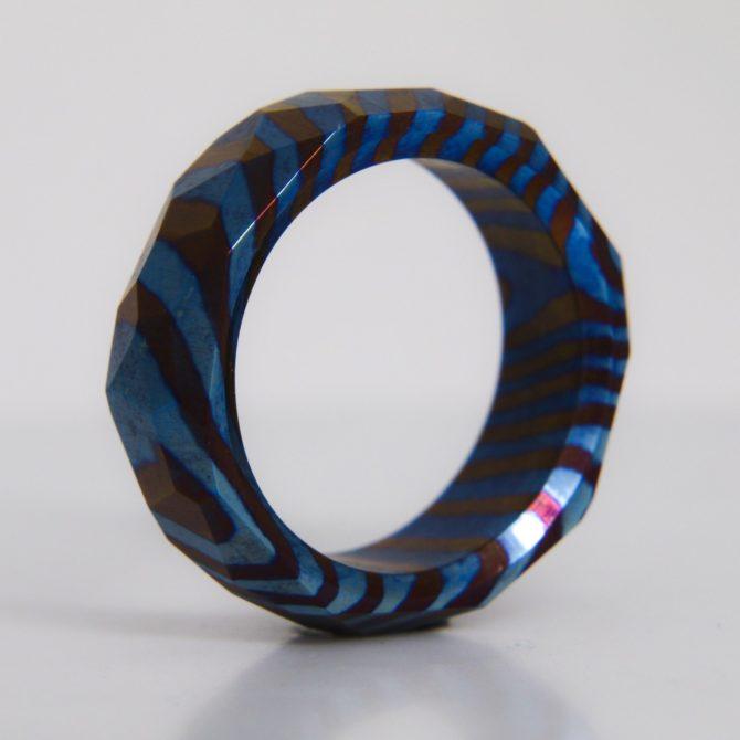Обсидиан кольцо из породы