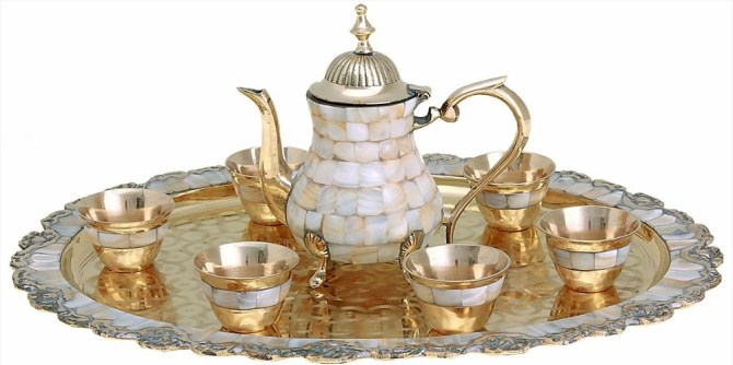 Перламутр - чайный набор