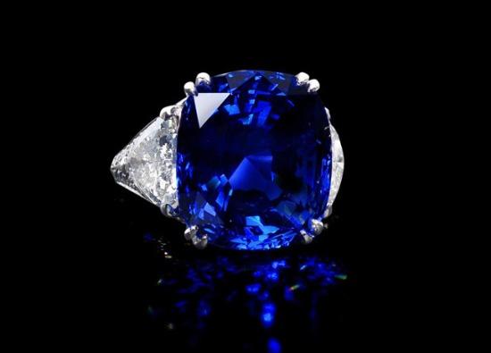 Синий бриллиант