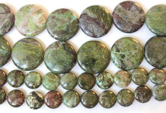 Камни зеленая яшма