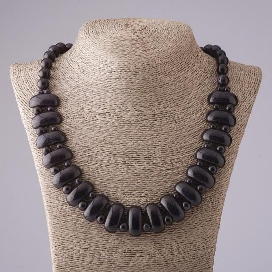 Ожерелье с синим авантюрином