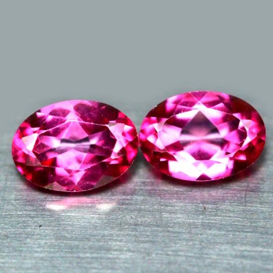 Камень розовый топаз