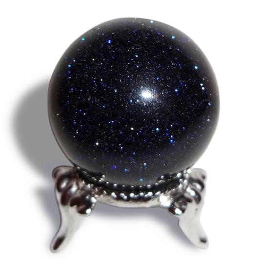 Камень чёрный авантюрин