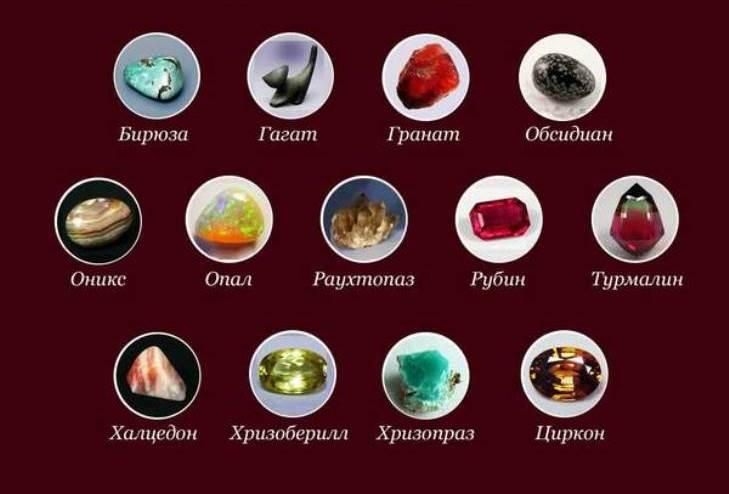 Талисманы для Козерога среди камней
