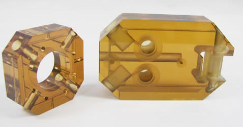 Заготовки из Cиталл СО115М с различными формами облегчения