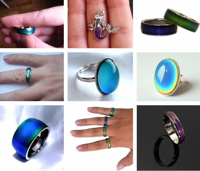 кольцо хамелеон меняет цвет