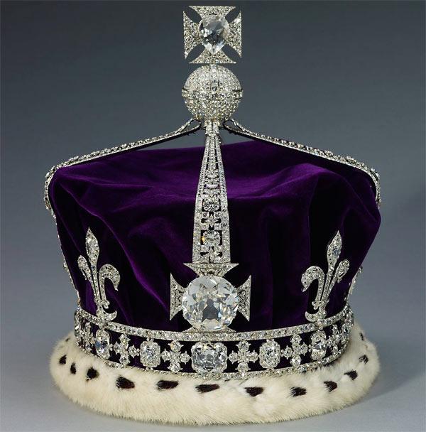 корона с алмазом Кохинор