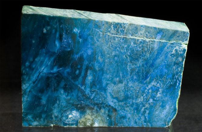 Дианит или голубой нефрит