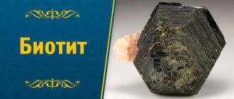 минерал Биотит