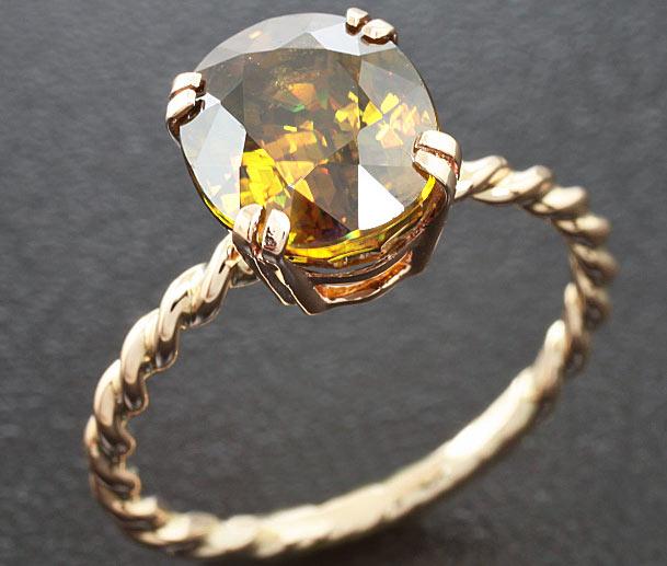 кольцо со сфеном