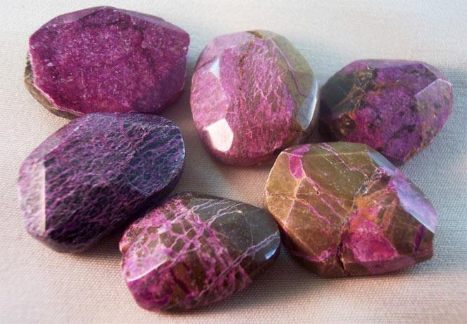минерал пурпурит
