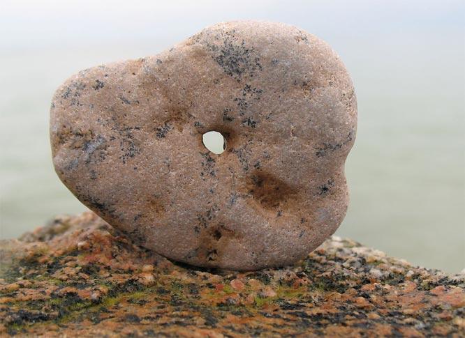 куриный бог камень