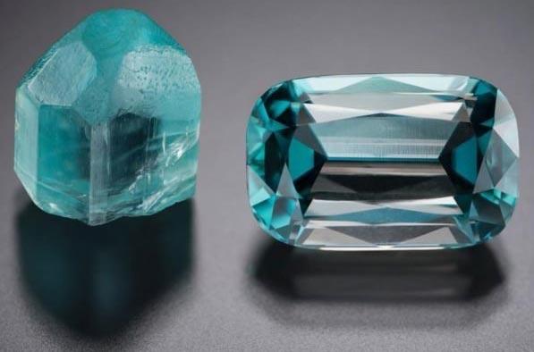 голубой камень