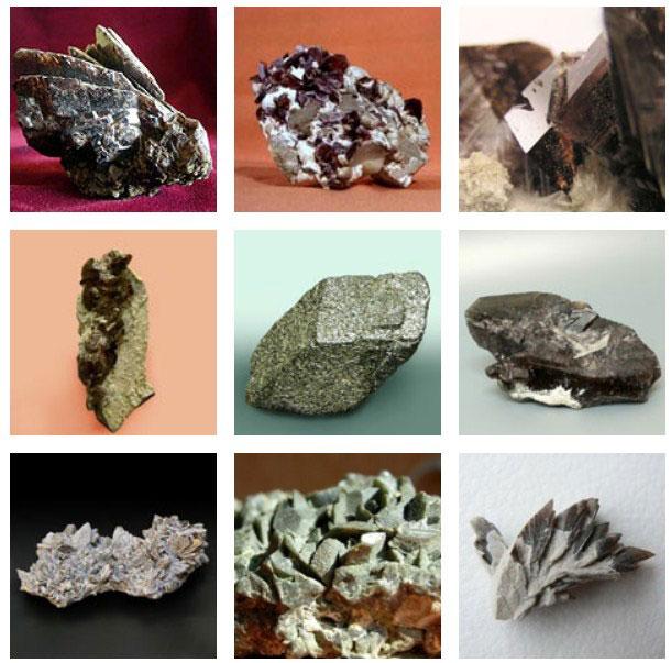 группа минералов