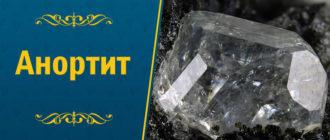 камень Анортит