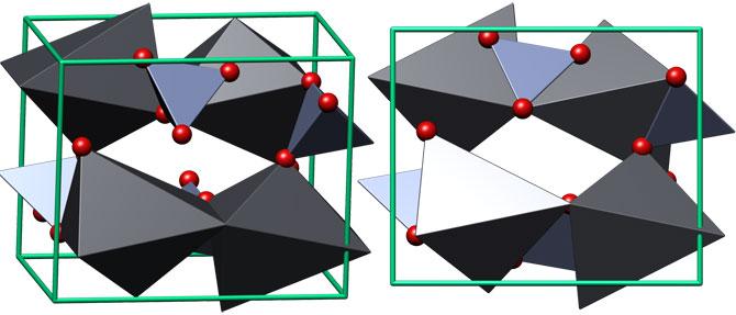 Кристаллическая структура крокоита
