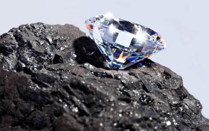 углерод графит алмаз