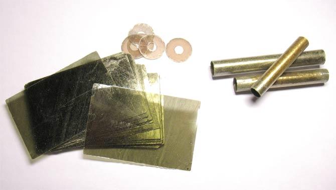 Различные изделия из электротехнической слюды