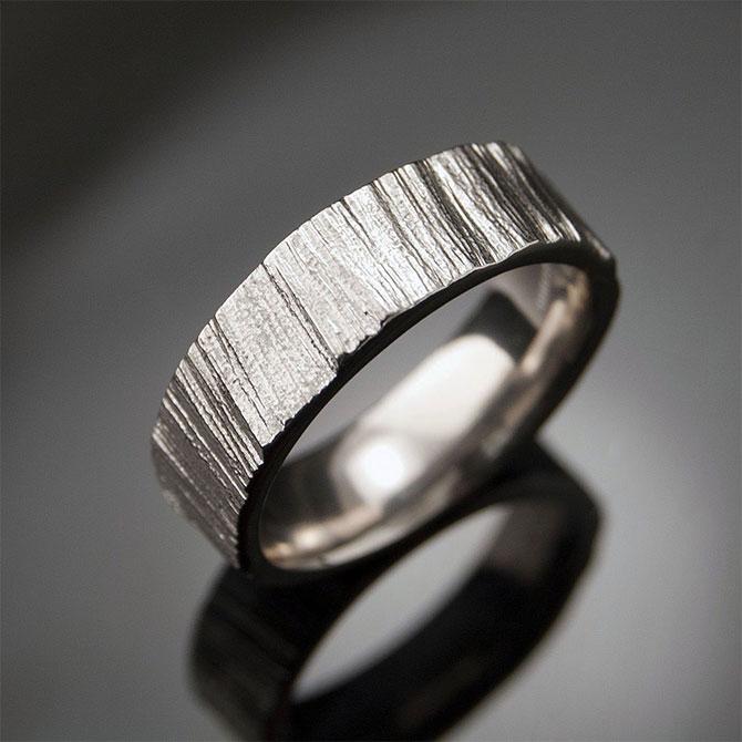 Кольцо из палладия