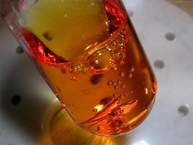 Растворение платины в горячей царской водке
