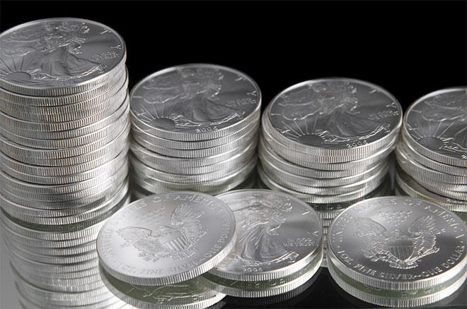 монеты из серебра