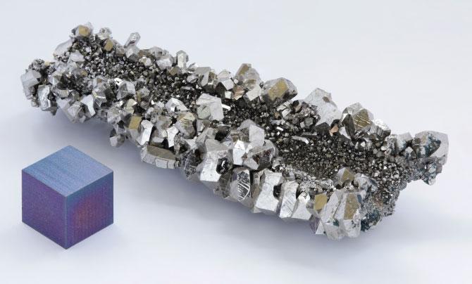 Кристаллы ниобия