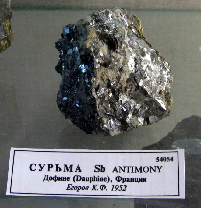 Сурьма металл