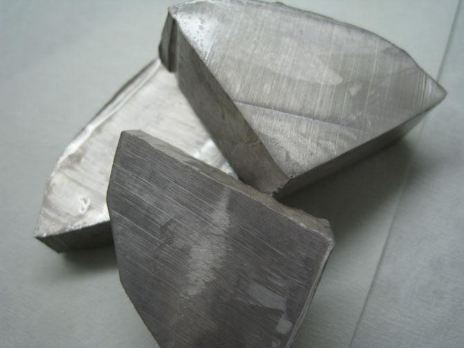 Свежесрезанный натрий