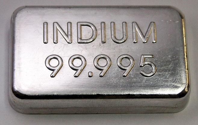 Индий металл