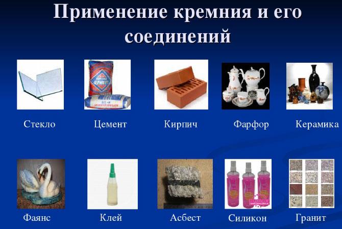 Использование кремния