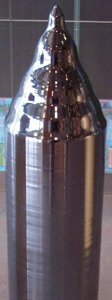 Монокристалл кремния, выращенный по методу Чохральского