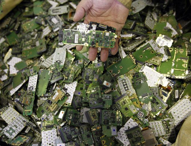 Переработка и утилизация драгоценных металлов