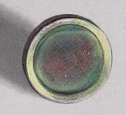 Тонкая плёнка металлического полония на диске из нержавеющей стали